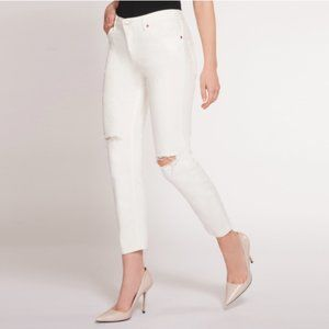 Dex Nixon Boyfriend Jeans White 25 NEW